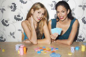 Poker med vänner